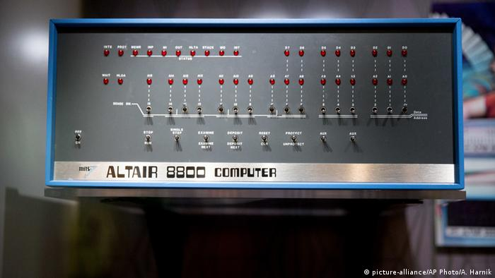 Altair 8800 Computer (Photo: Picture-alliance/AP Photo/A. Harnik)