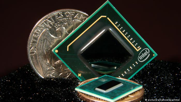Computerchip (Photo: Picture-alliance/dpa/Intel)