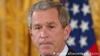 USA Ehemaliger Präsident George W. Bush (picture alliance/dpa/R. Sachs)