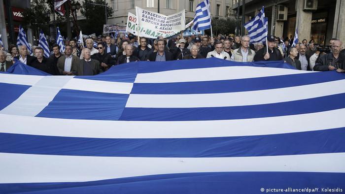 Griechenland Streik Demonstration