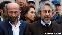 Bis zum Berufungsprozess auf freiem Fuß: die Journalisten Can Dündar und Erdem Gül