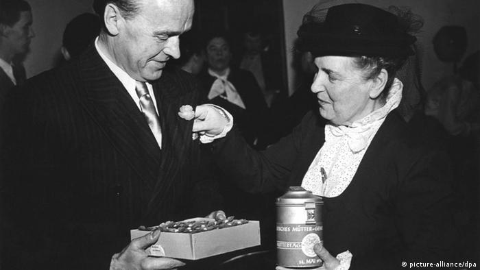 Germany Mother's Day 1950 Elly Heuss-Knapp Mütter-Genesungswerk