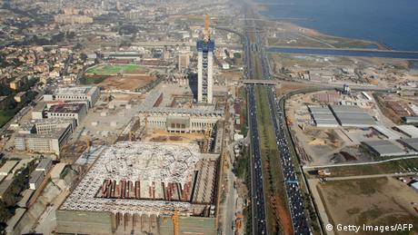 Algerien Baustelle Moschee Djamaa El Djazair