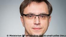 Ukraine Wolodymyr Omelyan, Minister für Infrastruktur