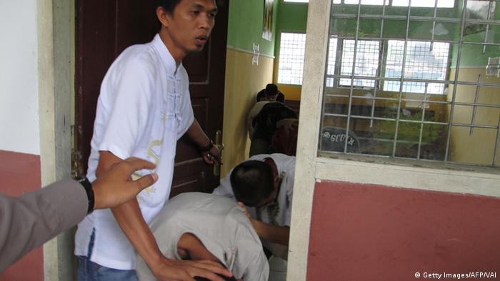 Indonesien Beschuldigte Vergewaltigung (Getty Images/AFP/VAI)