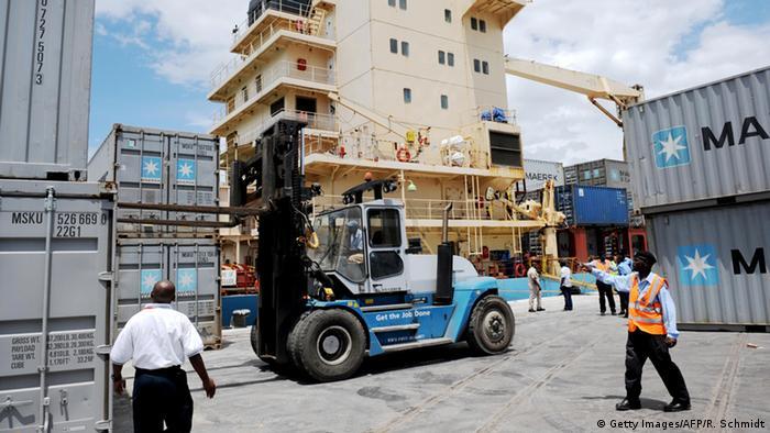 Kenia Mombasa Hafen
