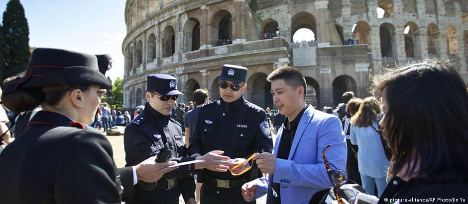 Poder se comunicar no próprio idioma é um alívio para muitos turistas chineses