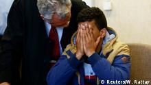 Deutschland Prozess wegen Sexualdelikts in Kölner Silvesternacht