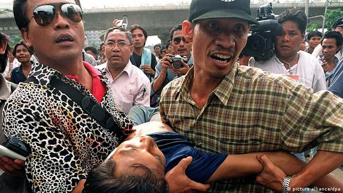 Indonesien Studentenproteste 1998 (picture alliance/dpa)