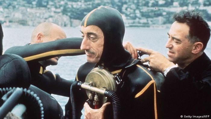 Frankreich Jacques Cousteau (Getty Images/AFP)