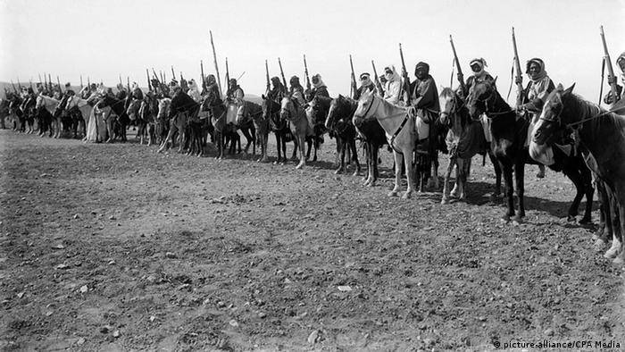 چادرنشینان منطقه اردن آماده جنگ با قشون امپراتوری عثمانی