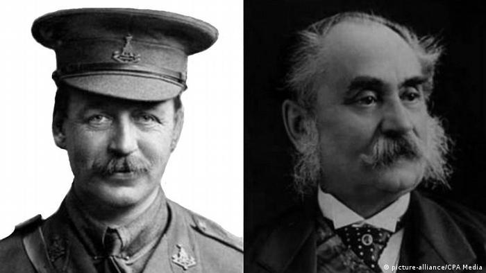 Sykes-Picot Abkommen Mark Sykes und Jacques Picot