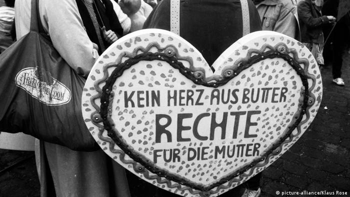 Germany demonstrations in Bonn for women's rights