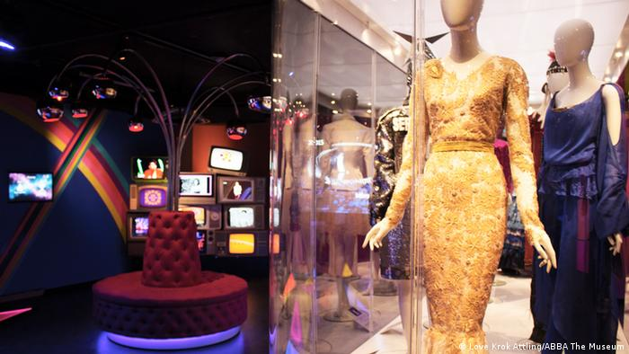 Schweden Ausstellung Good Evening Europe im ABBA-Museum in Stockholm