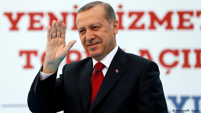 Türkei Ankara Tayyip Erdogan Rede in Istanbul