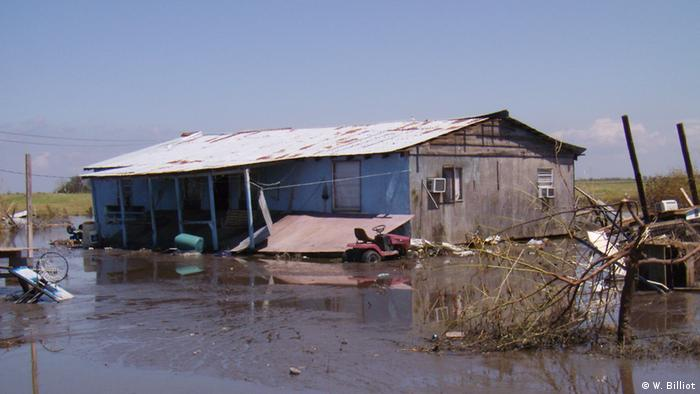 Isle de Jean Charles: climate change submerges US island
