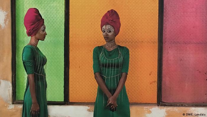 Senegal Dak'Art 2016 Aida Muluneh (Ausschnitt)