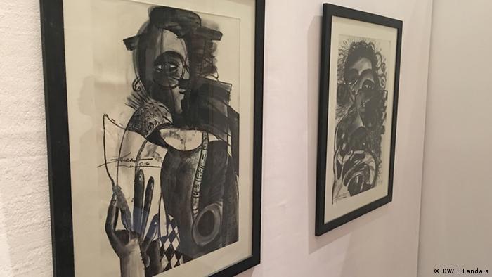 Senegal Dak'Art 2016 Kine Aw