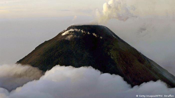 Guatemala Volcán del Fuego Vulkan