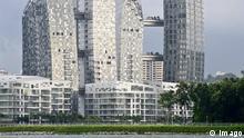 Daniel Libeskind Wohntürme Reflections Keppel Bay