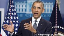 USA Presskonferenz Obama zur US Wirtschaft