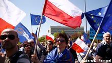 Polen regierungskritische Demonstrationen