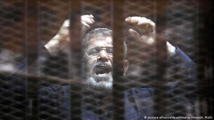 محمد مرسی بخش زیادی از دوران حبس را در زندان انفرادی بهسر برده بود
