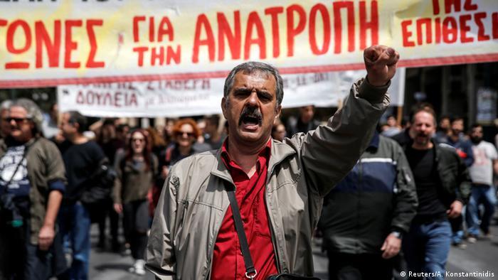 Griechenland Generalstreik Demonstration in Athen