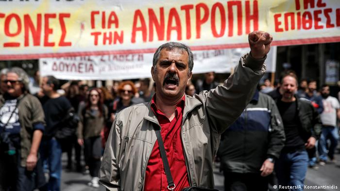 Griechenland Generalstreik Demonstration in Athen (Reuters/A. Konstantinidis)