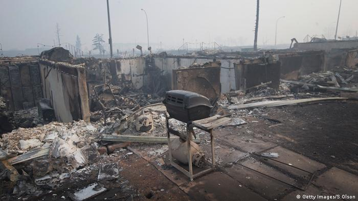 Zerstörte Häuser in Fort McMurray (Foto: Getty Images/S.Olson)
