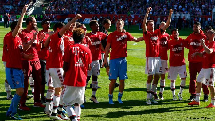 Bayern München Deutscher Meister 2016