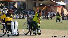 Pakistan Peschawar Rollstuhl Cricket