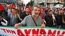 Griechenland Generalstreik Demonstration in Athen