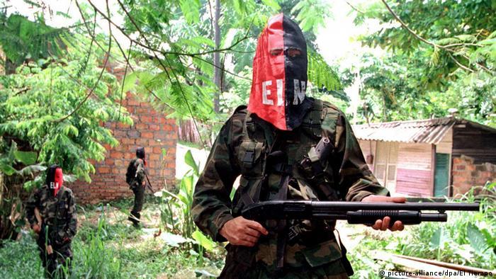 Kolumbien ELN Guerrilla (picture-alliance/dpa/El Tiempo)