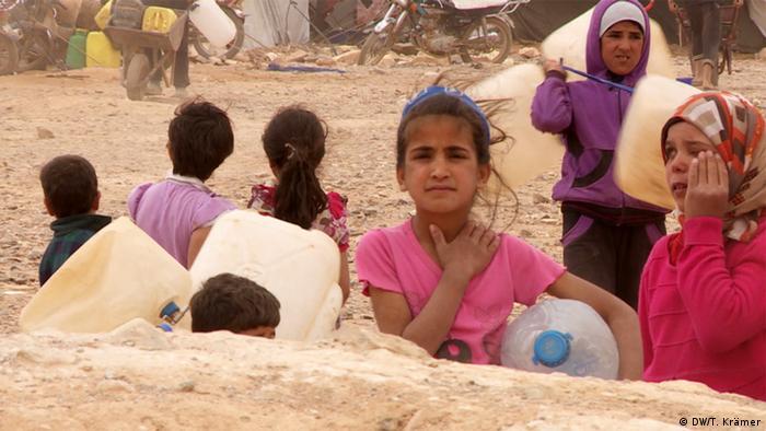Lage der Flüchtlinge in Jordanien (DW/T. Krämer)