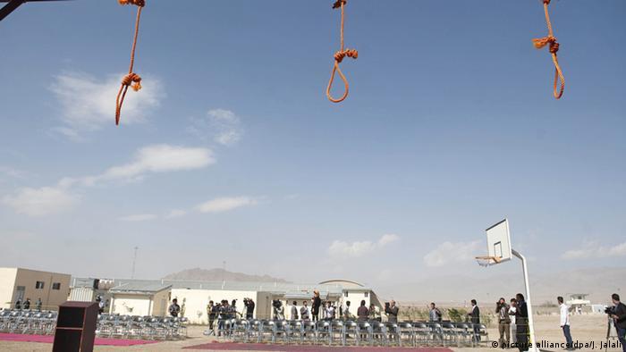 Afghanistan Hinrichtung im Gefängnis Pul-e-Tscharchi