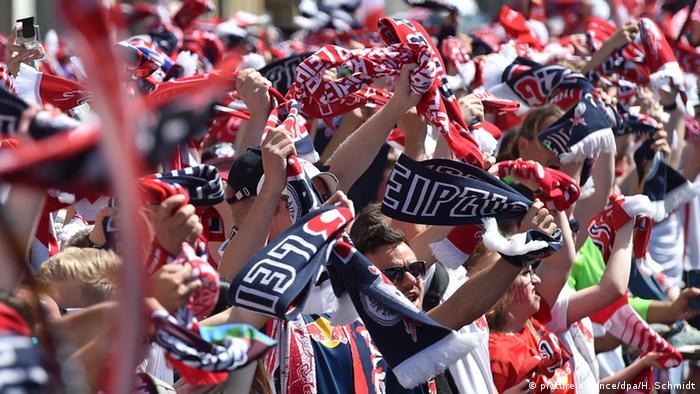 Deutschland RB Leipzig Fans