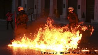 Αθήνα, επεισόδια σε διαδήλωση, 2016