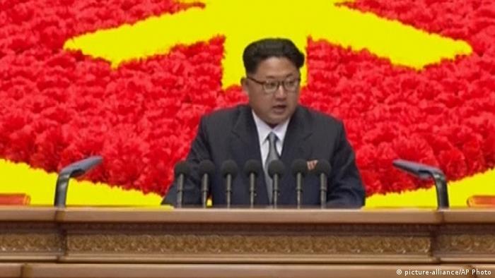 Nordkoreas Staatschef Kim Jong
