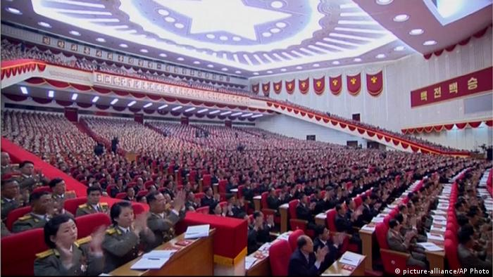 Nordkorea Parlament (picture-alliance/AP Photo)