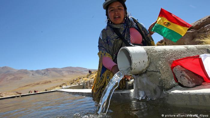 Bolivia Silala Fluss