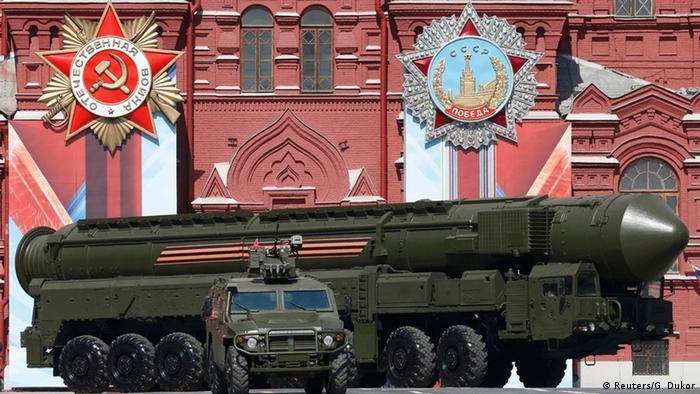 Russische Interkontinentalraketen