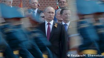 Владимир Путин на параде 9 мая