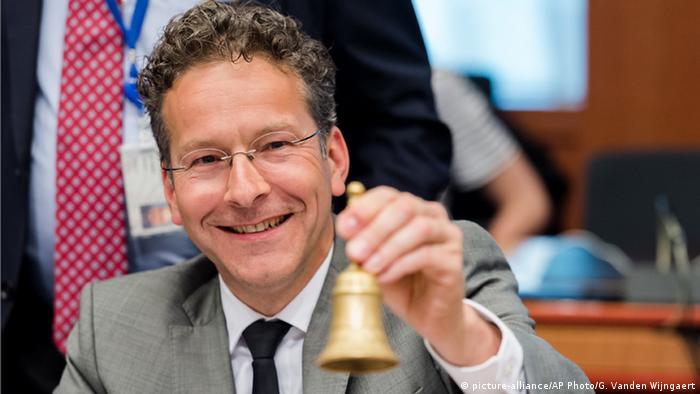 Belgien Brüssel Jeroen Dijsselbloem (picture-alliance/AP Photo/G. Vanden Wijngaert)
