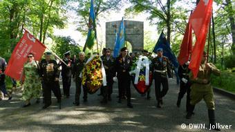Делегация из Калининграда в Трептов-парке