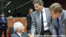 Brüssel, Treffen der EU-Finanzminister
