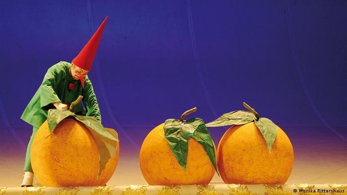 Любовь к трем апельсинам, Берлин