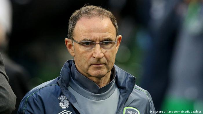 Fußball Trainer Republic of Ireland manager Martin O'Neill