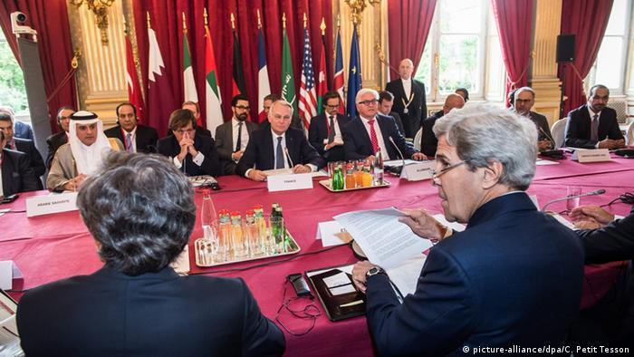 Außenministertreffen zu Syrien in Paris