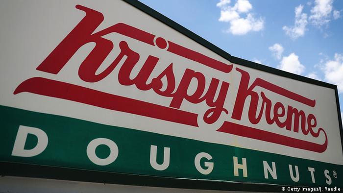 USA Miami Krispy Kreme Donuts LOGO (Getty Images/J. Raedle)